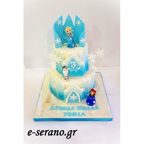 Frozen κάστρο έλσα-άννα-όλαφ