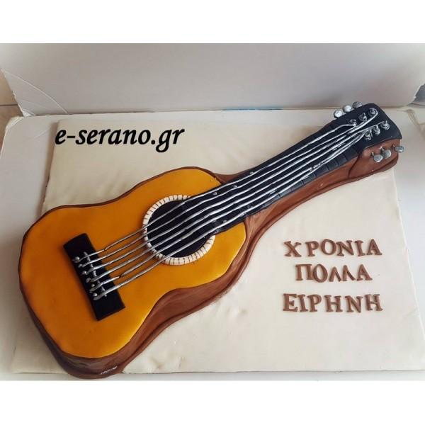 Τούρτα 3d κιθάρα
