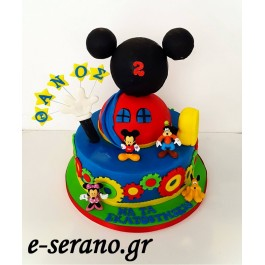 Τούρτα mickey mouse clubhouse