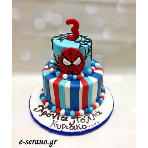 Τούρτα spiderman