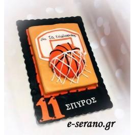 Τούρτα μπάλα του μπάσκετ