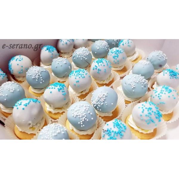 Cake pops πτιφούρ