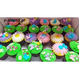 Cupcakes άνοιξη