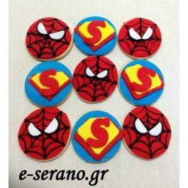 Μπισκότα super ήρωες