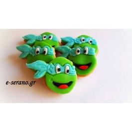 Μπισκότα χελωνονιντζάκια