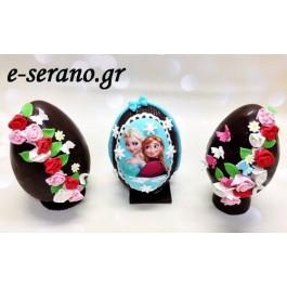 Πασχαλινά αυγά frozen κ λουλούδια μπουκέτο