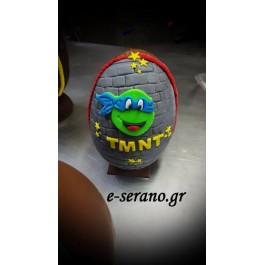 Πασχαλινό αυγό χελωνονιντζάκια