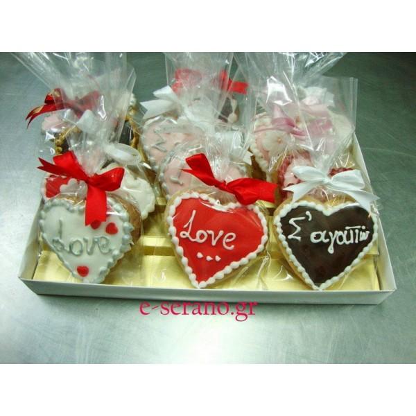 Μπισκότα καρδιά