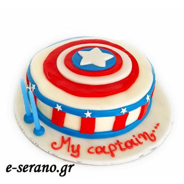 Τούρτα captain america