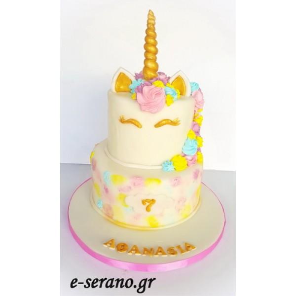 Τούρτα unicorn-μονόκερος