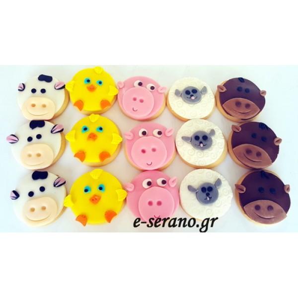 Μπισκότα ζώα της φάρμας