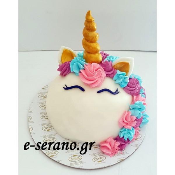 Τούρτα μονόκερος-unicorn