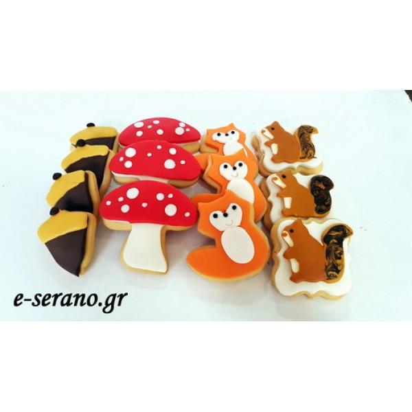 Μπισκότα ζώα του δάσους