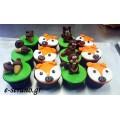 Cupcakes ζώα του δάσους
