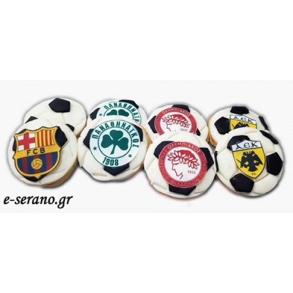 Μπισκότα μπάλα-ομάδες