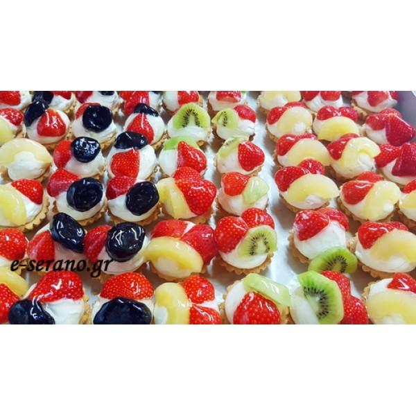 Tαρτάκια φρούτου