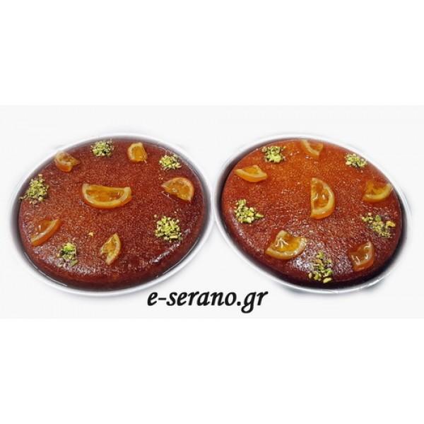 Πορτοκαλόπιτα ταψάκι