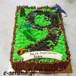 Τούρτα δεινόσαυροι