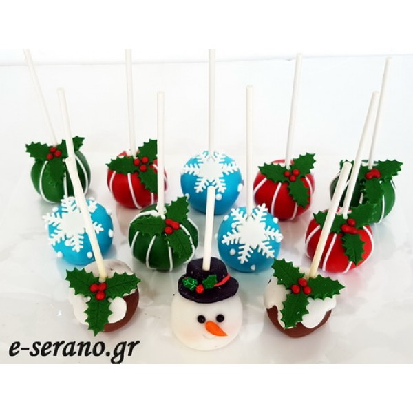 Cake pops χριστουγεννιάτικα