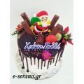 Χριστουγεννιάτικη τούρτα