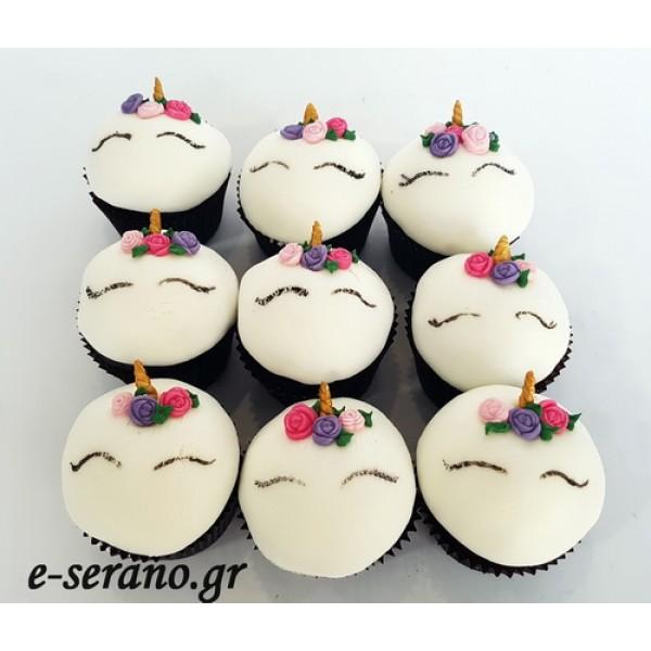 Cupcakes μονόκερος-unicorn