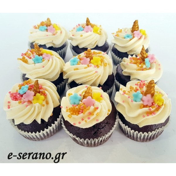 Cupcakes  μινι μονόκερος-unicorn