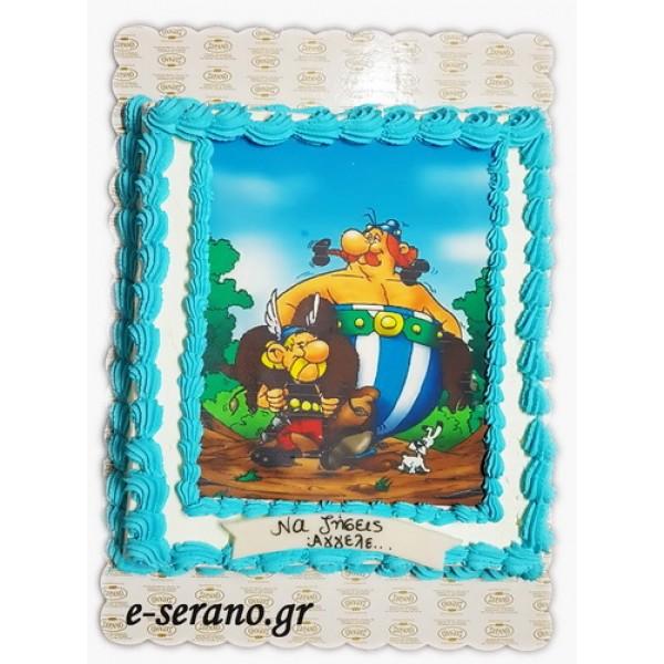Tούρτα asterix