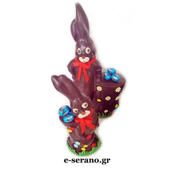 Πασχαλινός λαγός σοκολατένιος