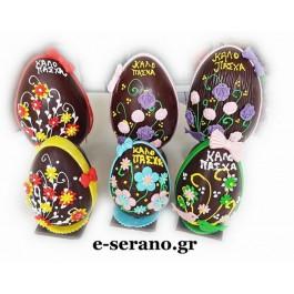 Πασχαλινά αυγά διάφορα σχέδια λουλουδια