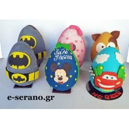 Πασχαλινά αυγά διάφορα σχέδια