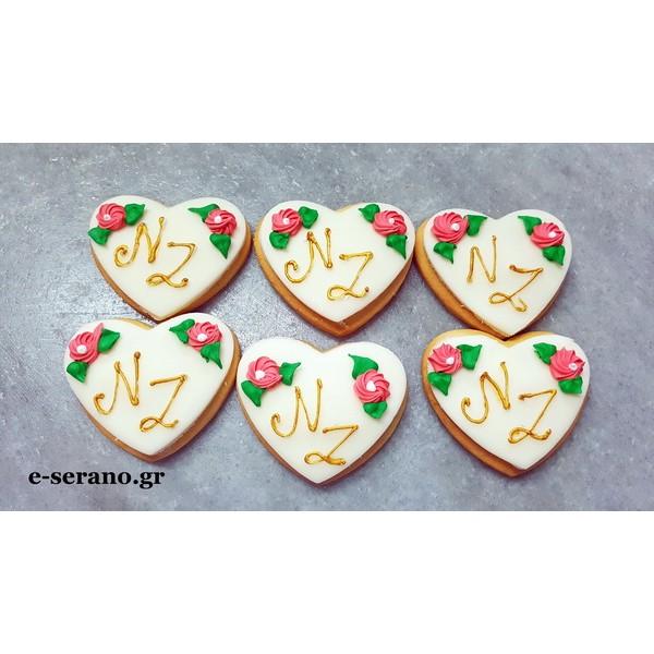 Μπισκότα με μονόγραμμα