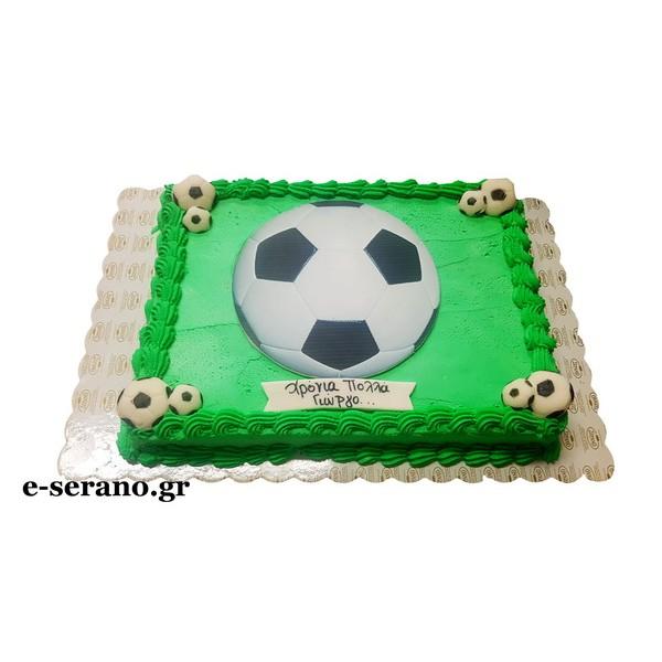 Tούρτα μπάλα ποδοσφαίρου