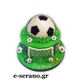 Τούρτα μπάλα ποδοσφαίρου
