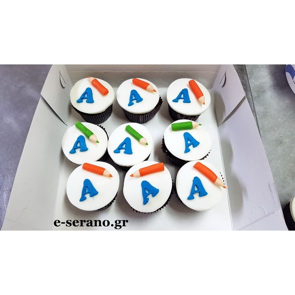Cupcakes back to school