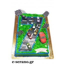 Τούρτα αυτοκινητόδρομος-νούμερο 7