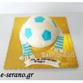 Τούρτα μπάλα ποδοσφαίρου ομάδα