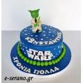 Τούρτα star wars γιόντα