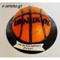 Τούρτα μπάλα μπάσκετ nba