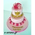 Τούρτα τριαντάφυλλα- princess