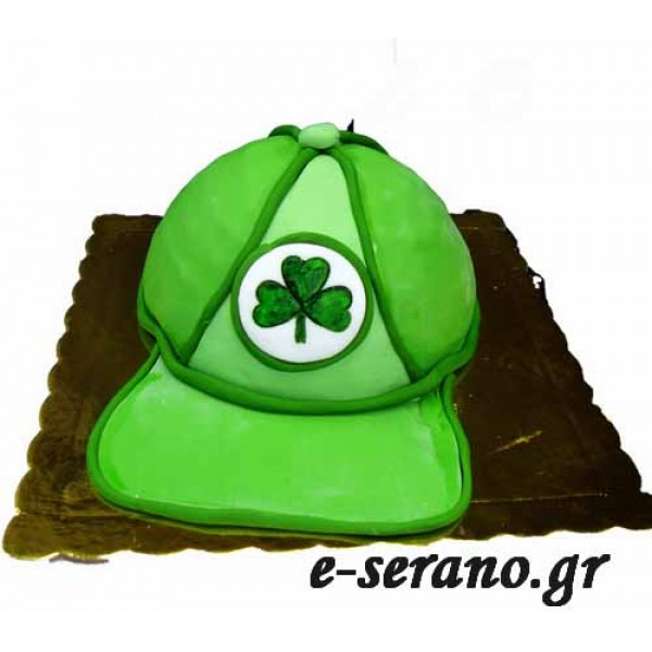 Τούρτα καπέλο παναθηναικού